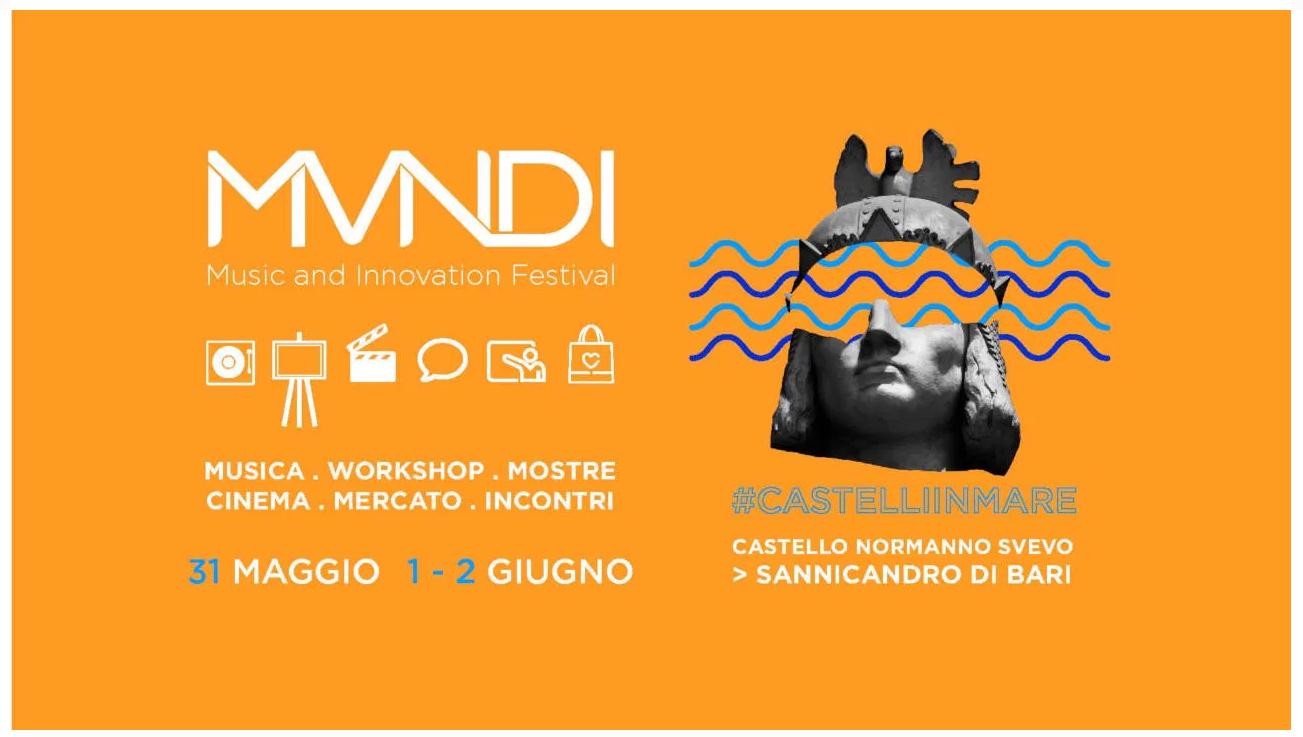 Mundi Festival 2019: dal 31 maggio al 2 giugno, a Sannicandro, l'arte al servizio di solidarietà ed ecologia