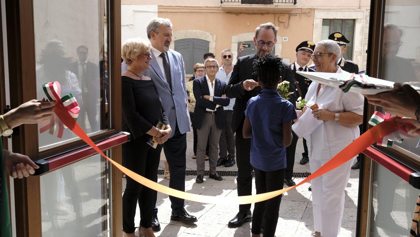 Inaugurata la Community Library di Sannicandro di Bari