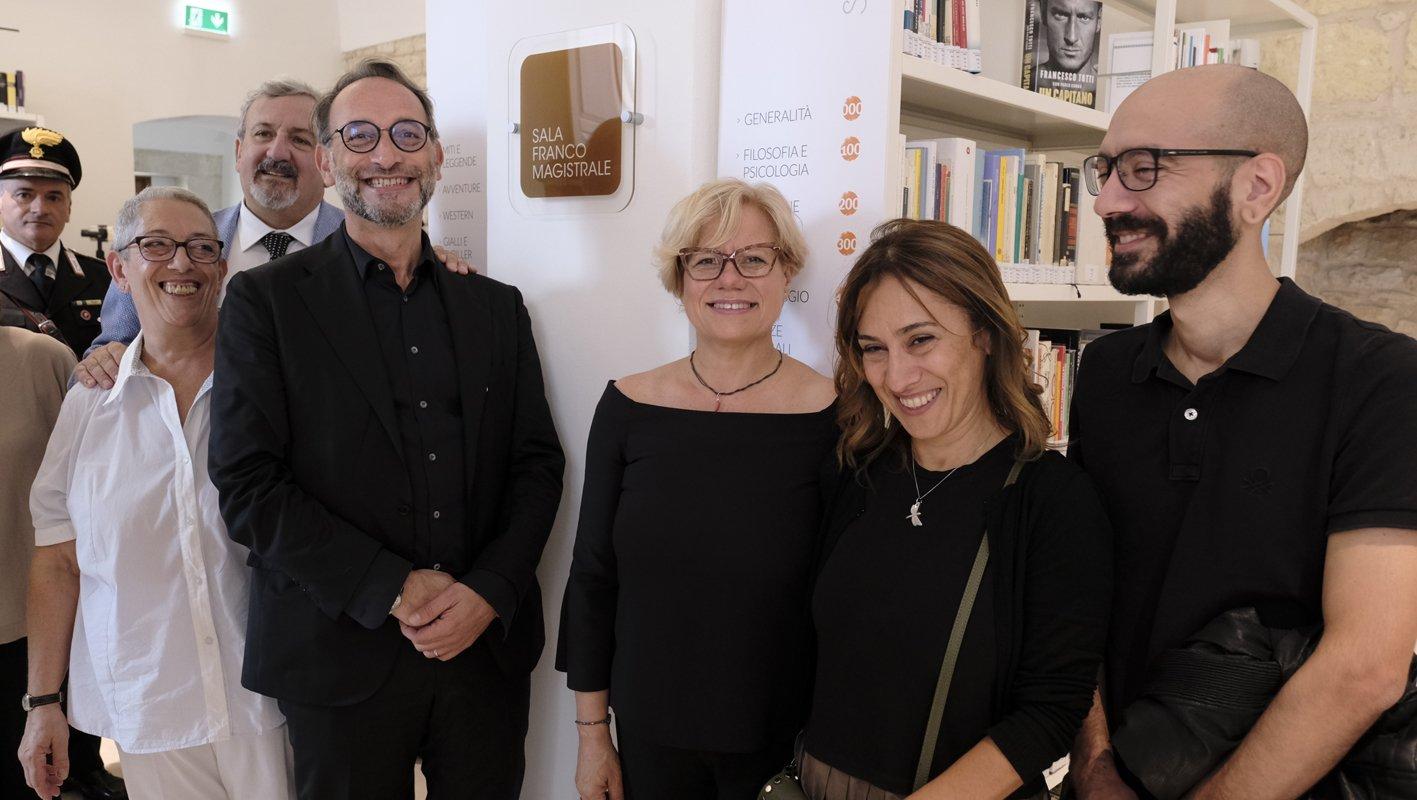 "Inaugurata la rinnovata Biblioteca ""Bavaro"""