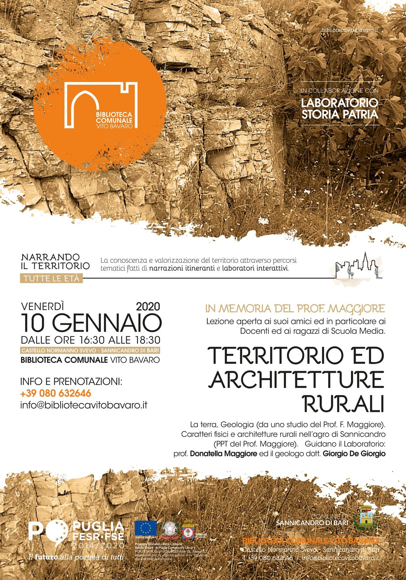 Territorio ed architetture rurali